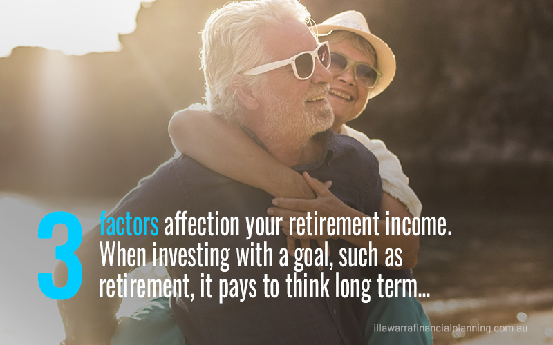3 factors affecting retirement income