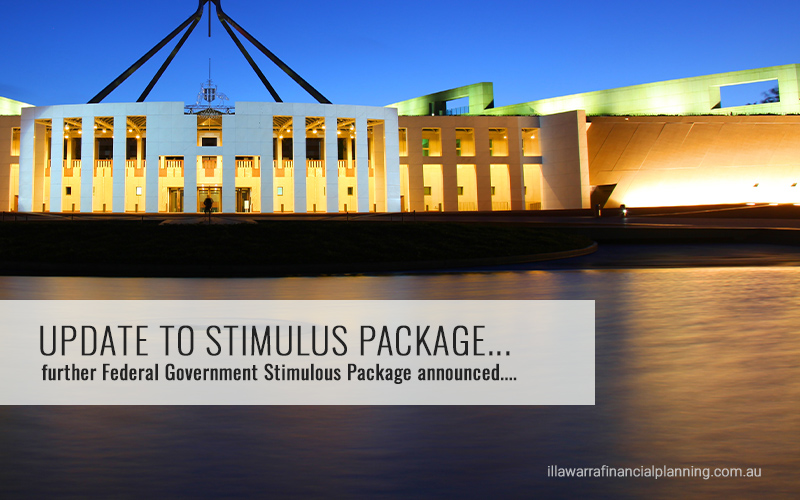 Federal Government Stimulus Package announced