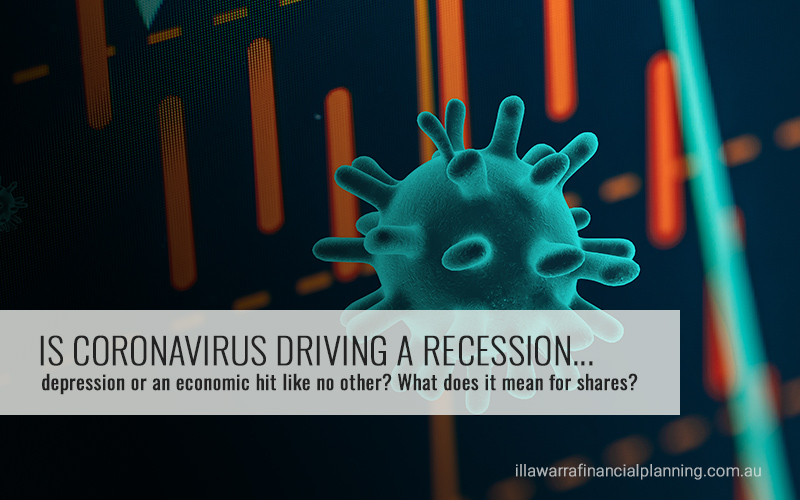 Is coronavirus driving a recession, depression