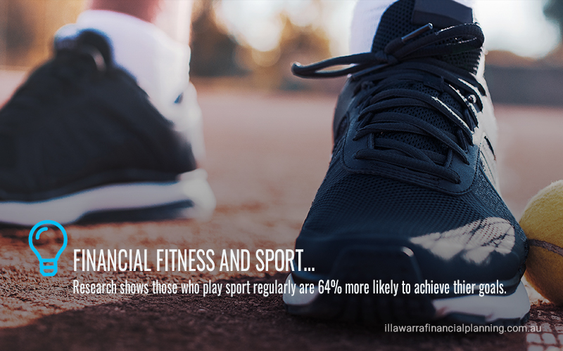 Sports lovers enjoy better financial fitness