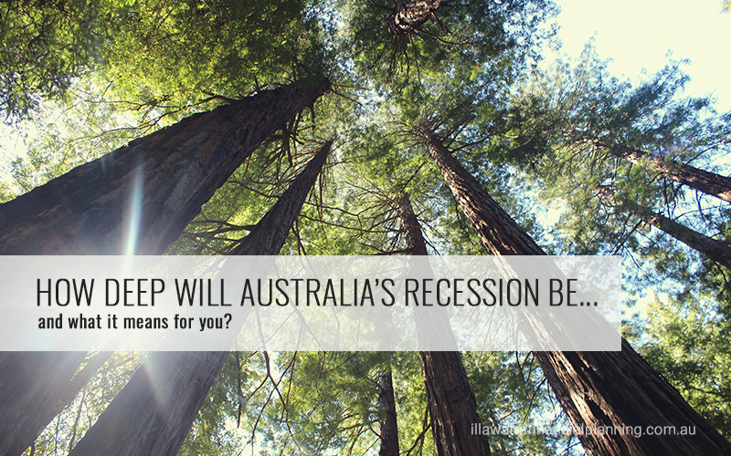 How deep will Australia's recession be?
