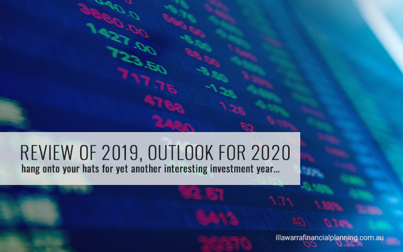 2019 in review, outlook for 2020