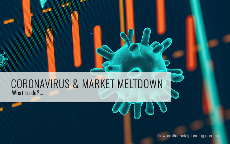 Coronavirus & Financial Markets Melt Down.