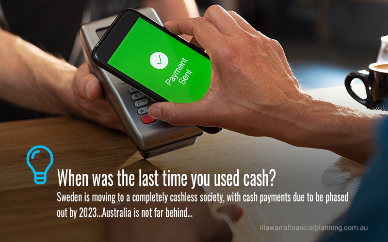 Spending money in a cashless world