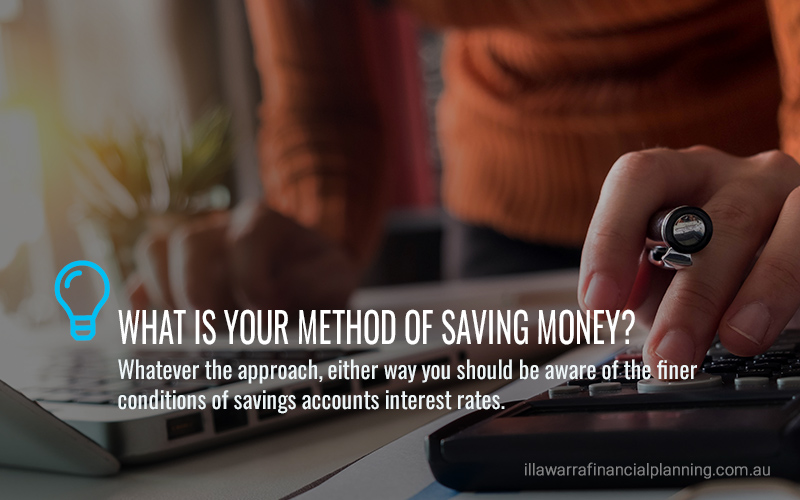 Why saving is behaving